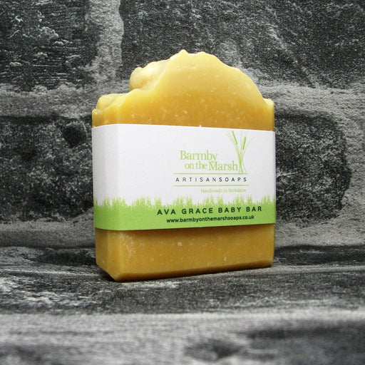 Ava Grace Natural Baby Soap Bar By Barmby On The Marsh Artisan Soaps | Adam & Eco