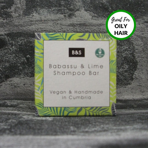 Babassu & Lime Natural Handmade Shampoo Bar For Normal To Oily Hair Types
