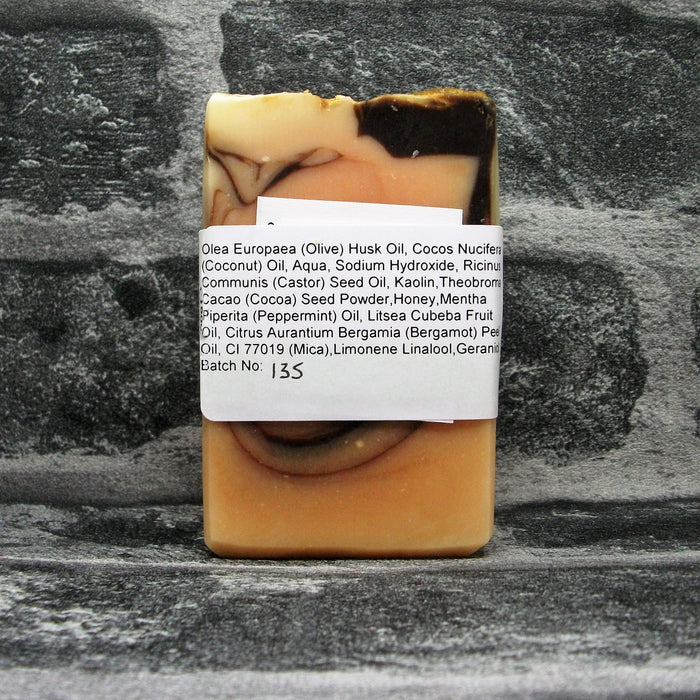 Back Of After Dark Soap Bar By Barmby On The Marsh Artisan Soaps | Adam & Eco