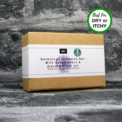 Botanical Shampoo Bar For Dry Itchy Scalps