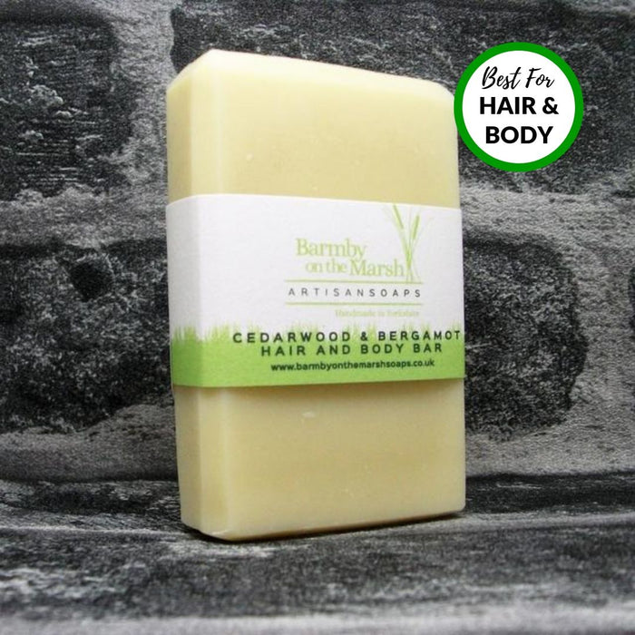 Cedarwood & Bergamot Hair & Body Bar