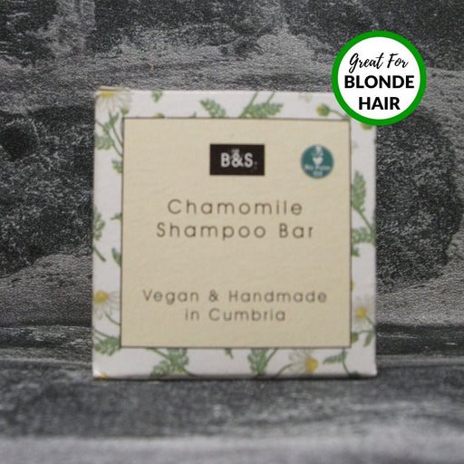 Chamomile Natural Handmade Shampoo Bar For Blonde Hair By Bain & Savon