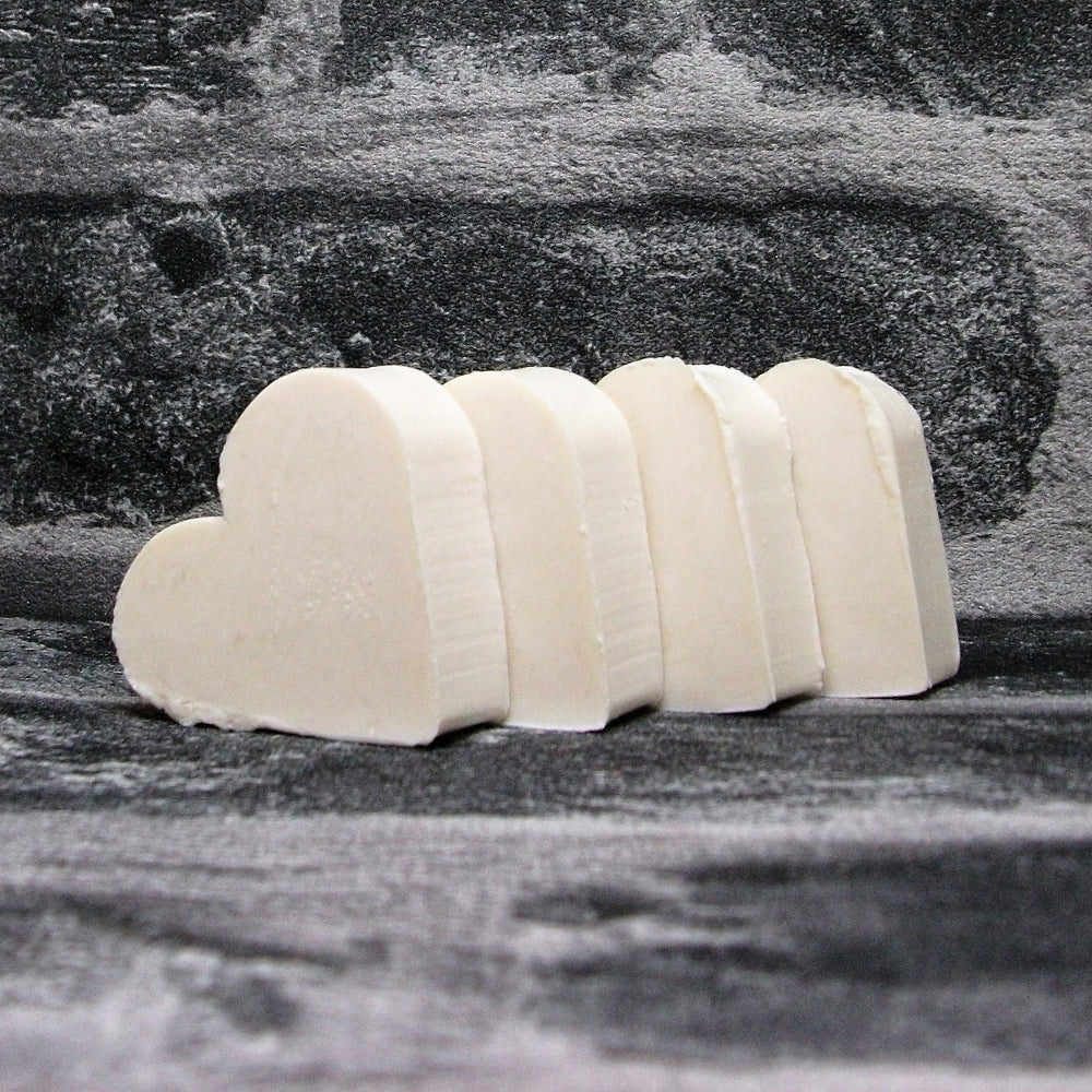 Coconut Heart Shaped Mini Guest Soaps - Adam & Eco