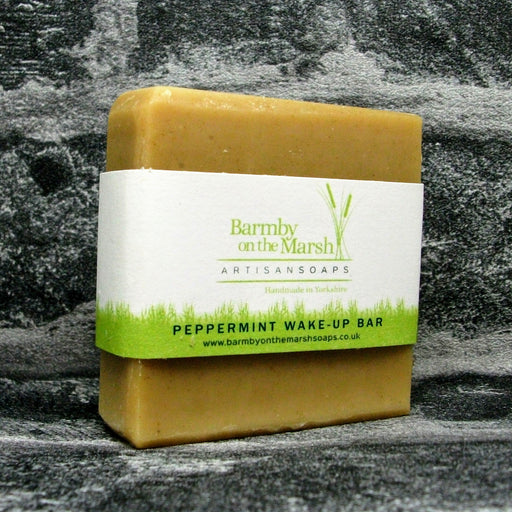 Peppermint Wake Up Soap Bar By Barmby On The Marsh Artisan Soaps