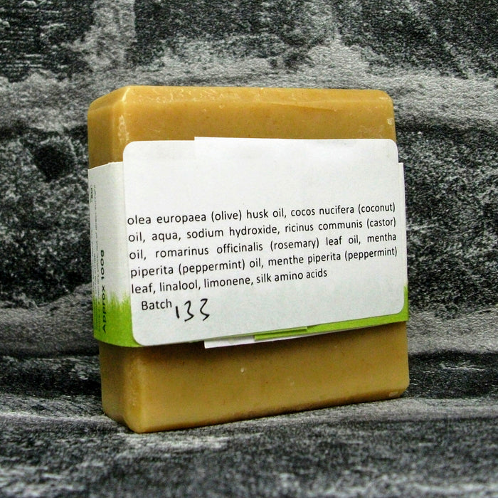 Peppermint Wake Up Soap Bar Reverse By Barmby On The Marsh Artisan Soaps