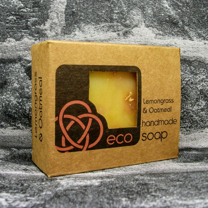 Eco Soaps Lemomgrass & Oatmeal Soap Bar