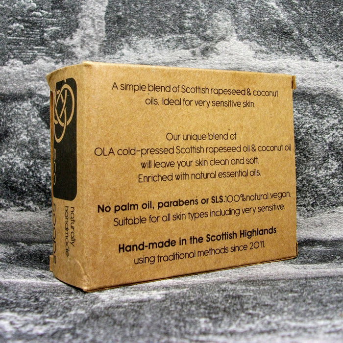 Eco Soaps Pure Unscented Soap Bar Reverse