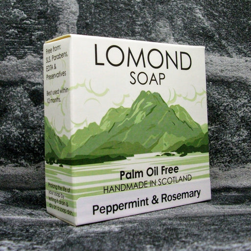 Lomond Soap Peppermint & Rosemary Soap Bar