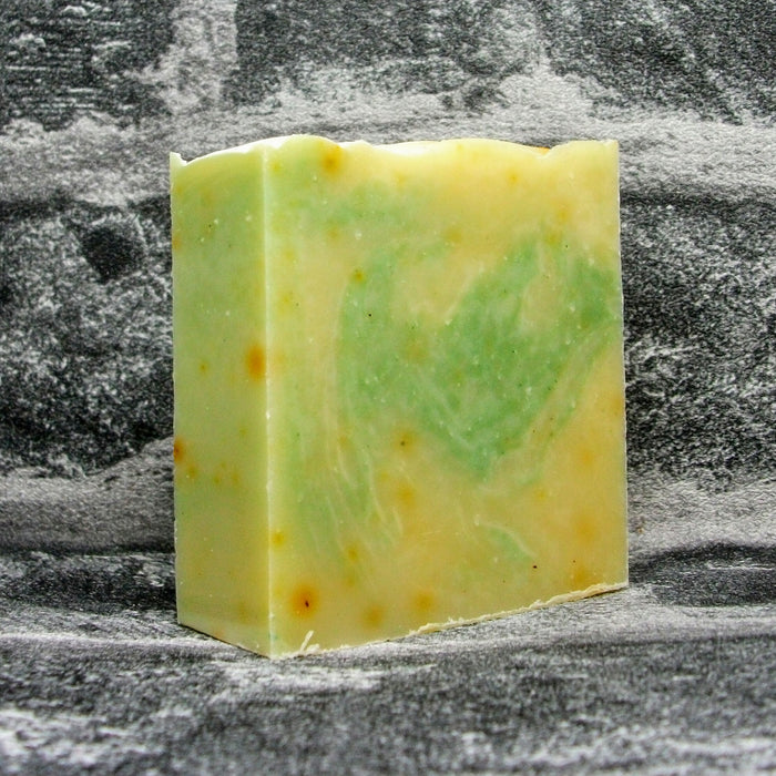 Lomond Soap Peppermint & Rosemary Soap Bar Unboxed