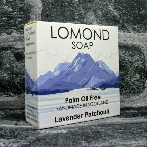 Lomond Soap Lavender & Patchouli Soap Bar