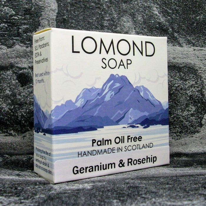 Lomond Soap Geranium & Rosehip Soap Bar