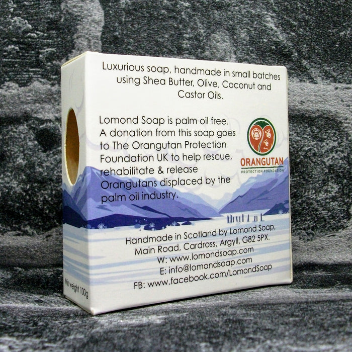 Lomond Soap Geranium & Rosehip Soap Bar Reverse