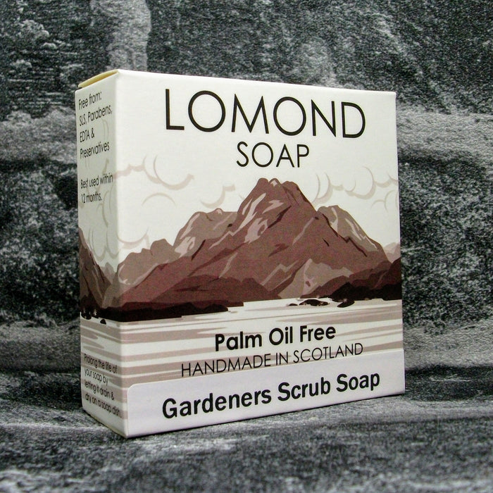 Lomond Soap Gardeners Scrub Soap Bar