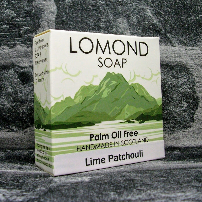 Lomond Soap Lime & Patchouli Soap Bar