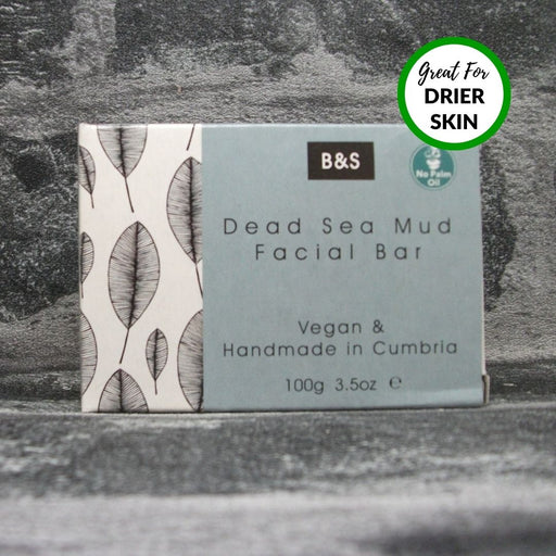 Dead Sea Clay & Argan Oil Natural Handmade Face Soap Bar By Bain & Savon
