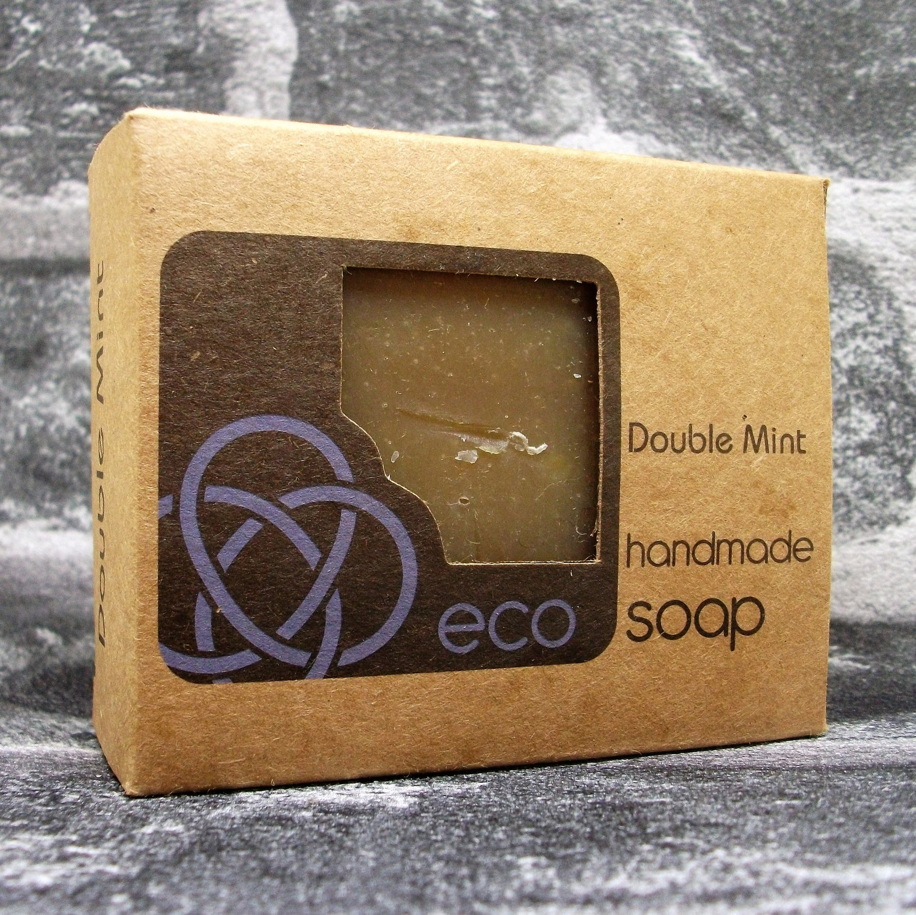 Eco Soaps Double Mint Freshly Handmade Natural Soap Bar - Adam & Eco