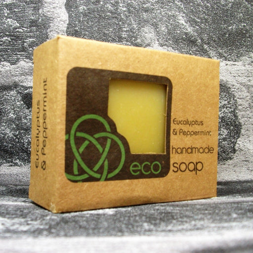 Eco Soap Eucalyptus & Peppermint Soap Bar - Adam & Eco
