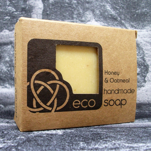 Eco Soaps Honey & Oatmeal Soap Bar - Adam & Eco