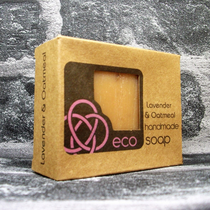 Eco Soap Lavender & Oatmeal Soap Bar - Adam & Eco