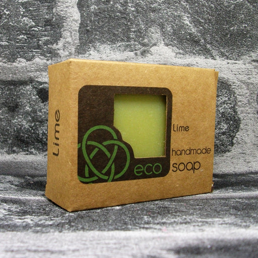 Eco Soaps Lime Soap Bar With Activated Charcoal - Adam & Eco