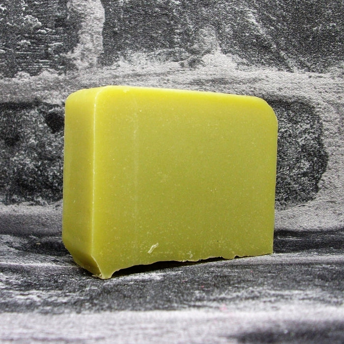 Eco Soaps Lime Soap Bar With Activated Charcoal Unwrapped - Adam & Eco