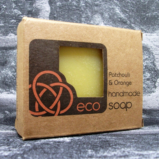 Eco Soaps Patchouli & Orange Soap Bar - Adam & Eco