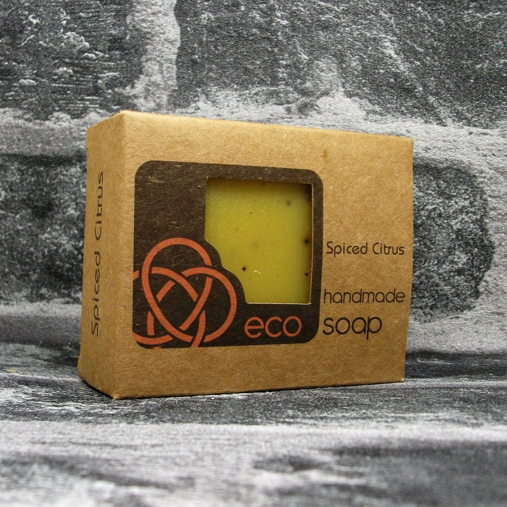 Eco Soaps Spiced Citrus Soap Bar - Adam & Eco