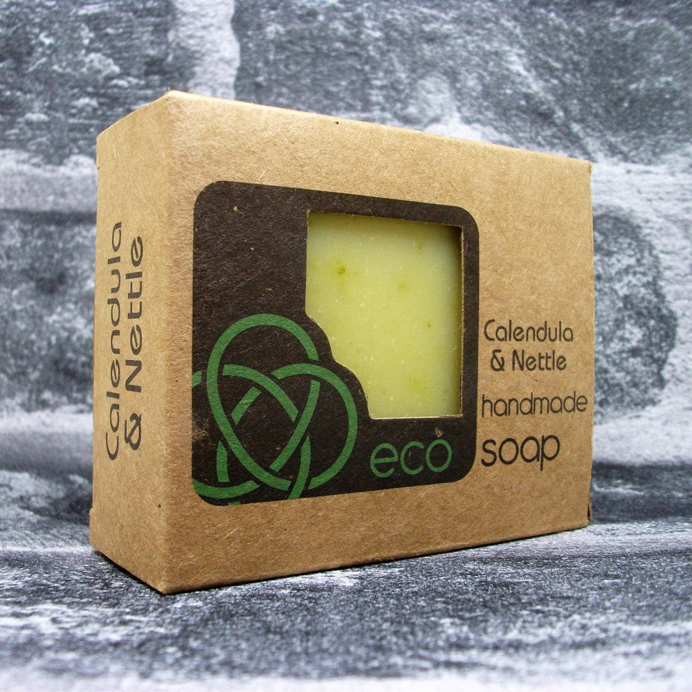 Eco Soaps Calendula & Nettle Soap Bar - Adam & Eco