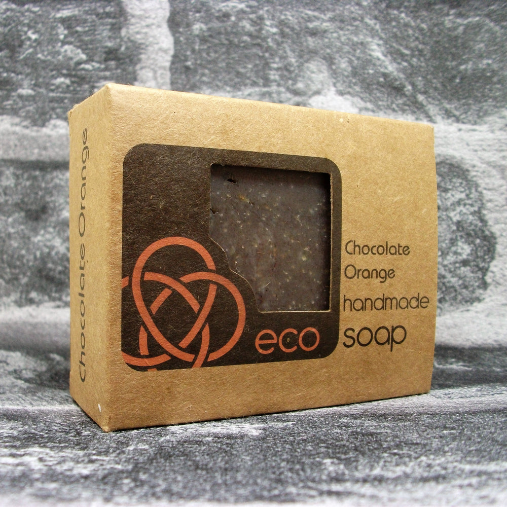 Eco Soaps Chocolate Orange Soap Bar - Adam & Eco