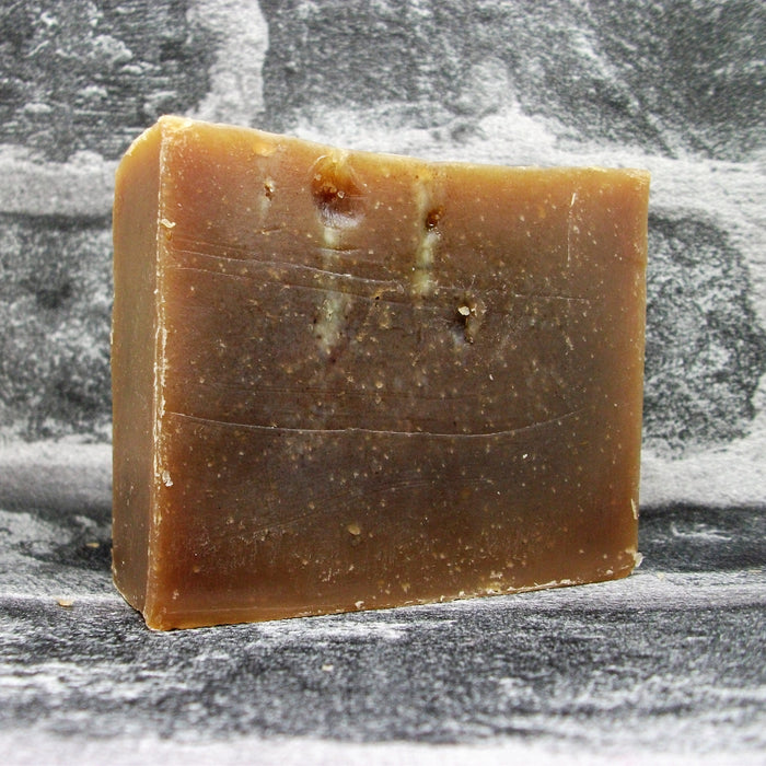 Eco Soaps Chocolate Orange Soap Bar Unwrapped - Adam & Eco