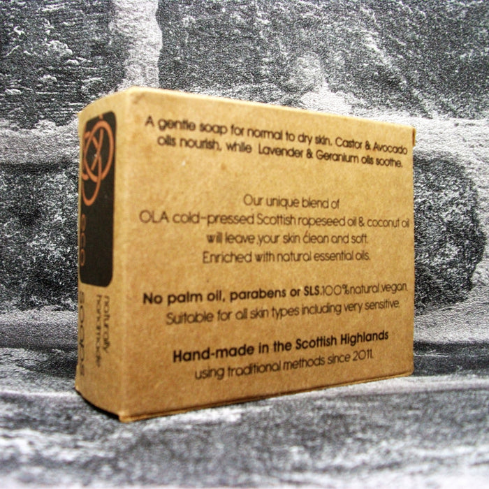 Eco Soaps' Face Soap Bar Reverse