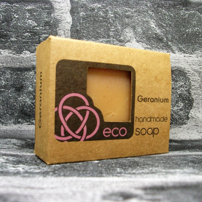 Eco Soaps Geranium Soap Bar - Adam & Eco