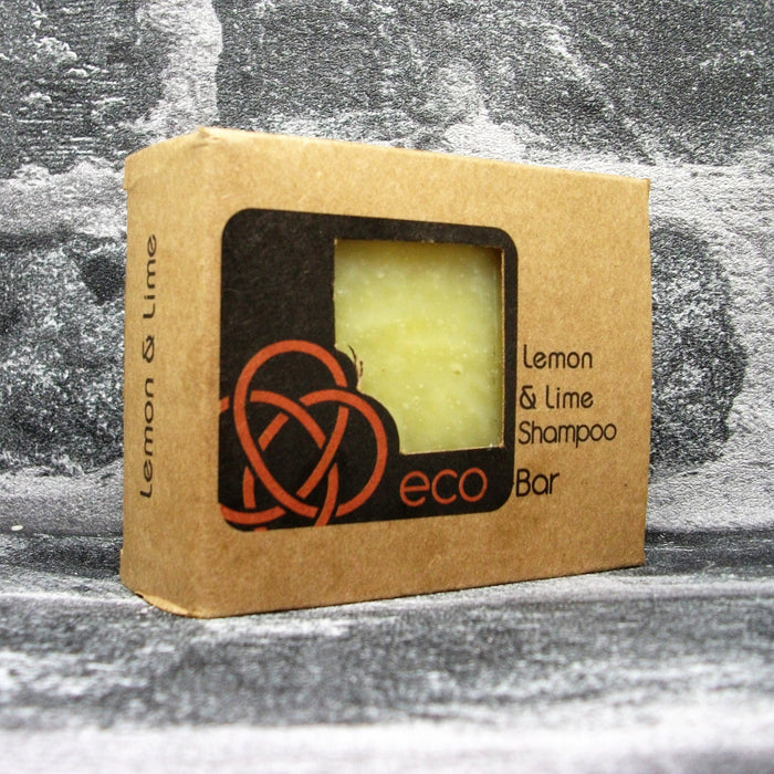 Eco Soaps' Lemon & Lime Shampoo Bar For Oily Hair Types