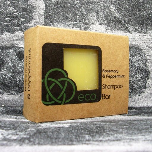 Eco Soaps' Invigorating Rosemary & Peppermint Shampoo Bar For All Hair Types
