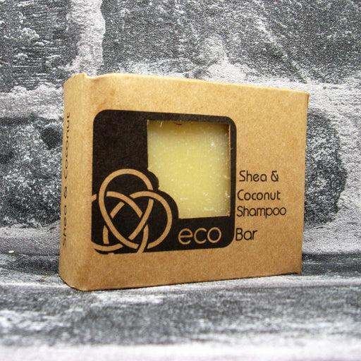 Eco Soaps' Shea & Coconut Shampoo Bar For Dry Hair & Scalp
