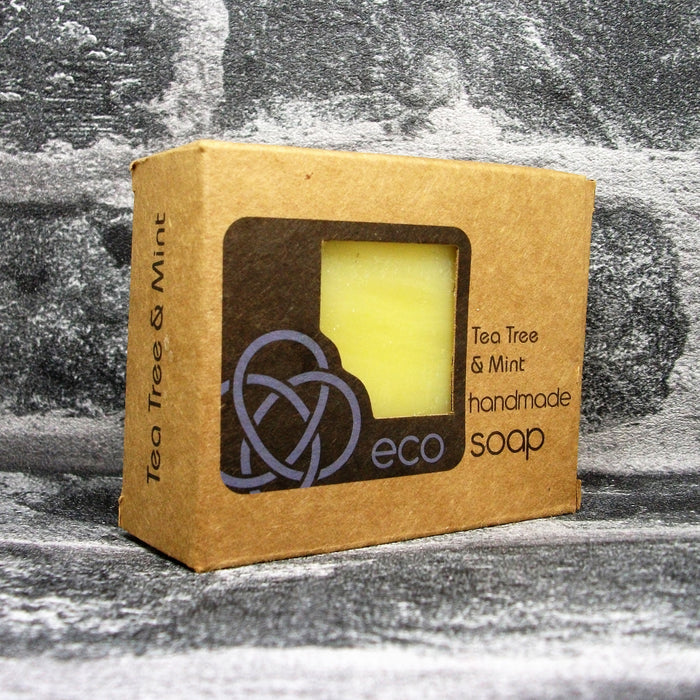 Eco Soaps' Tea Tree & Mint Soap Bar