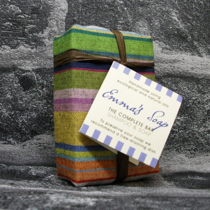 Emma's Soap The Complete Bar 'Shampoo & Soap' Soap Bar - Adam & Eco