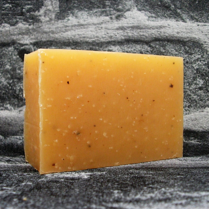 Friendly Lemongrass & Hemp Soap Bar Unwrapped - Adam & Eco
