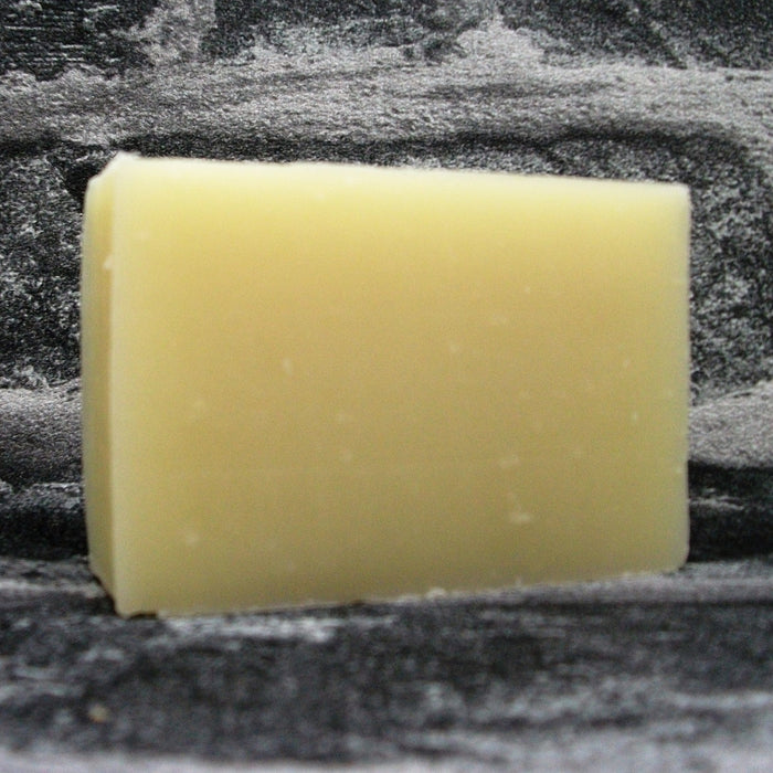 Friendly Soap Orange & Lavender Shaving Soap Bar Unwrapped