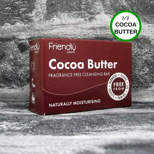 Friendly Soap Cocoa Butter Facial Cleansing Soap Bar