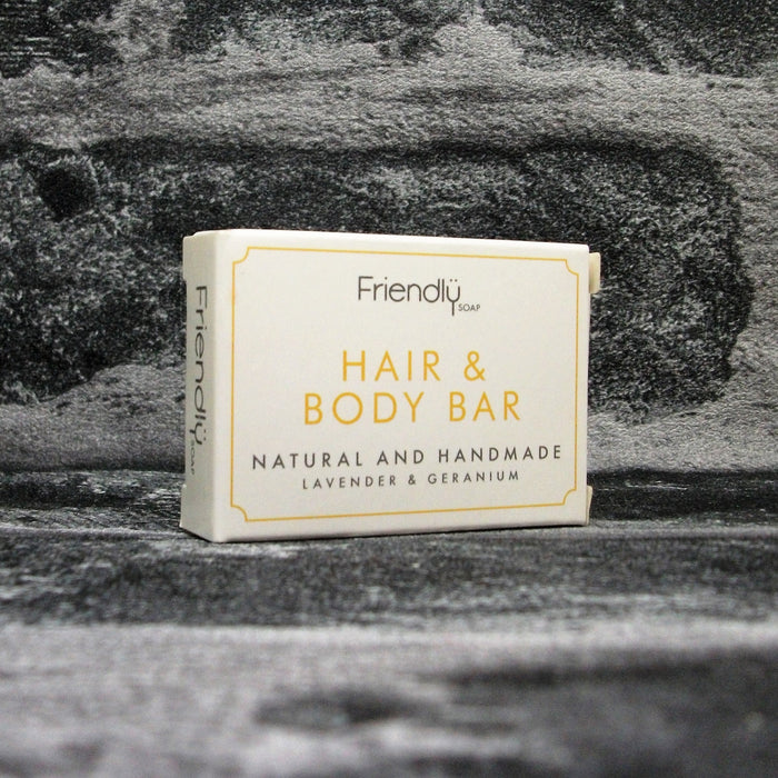 Friendly Soap Hair & Body Mini Guest Soap Bar - Adam & Eco