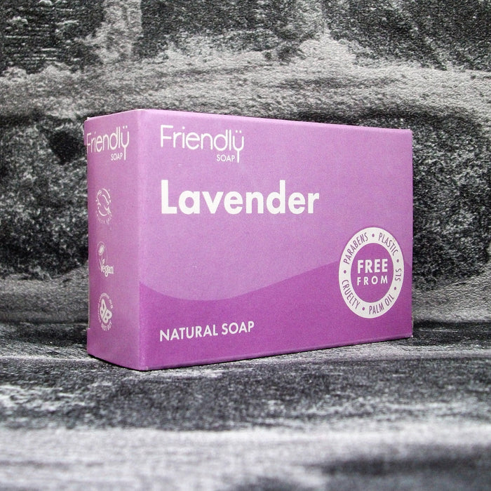 Friendly Soaps' Lavender Soap Bar