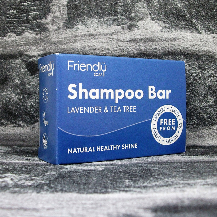 Friendly Soaps' Lavender & Tea Tree Shampoo Bar For All Hair Types