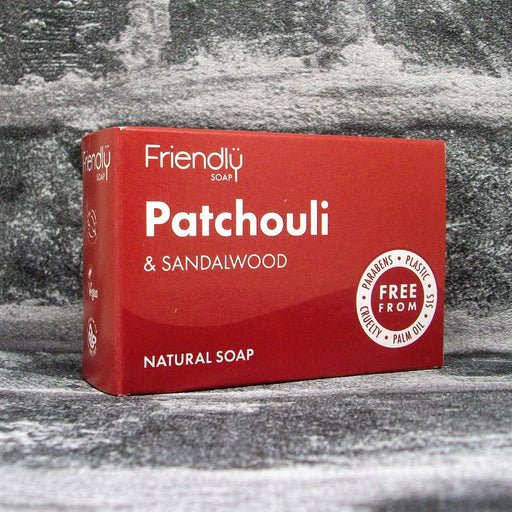 Friendly Soap Patchouli & Sandalwood Soap Bar