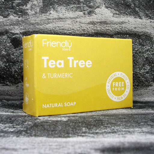 Friendly Soaps' Tea Tree & Turmeric Soap Bar