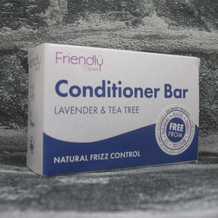 Friendly Soap Lavender & Tea Tree Conditioner Bar For All Hair Types