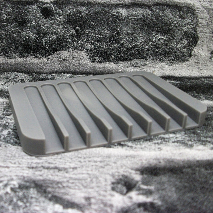 Grey Silicone Soap Dish - Adam & Eco