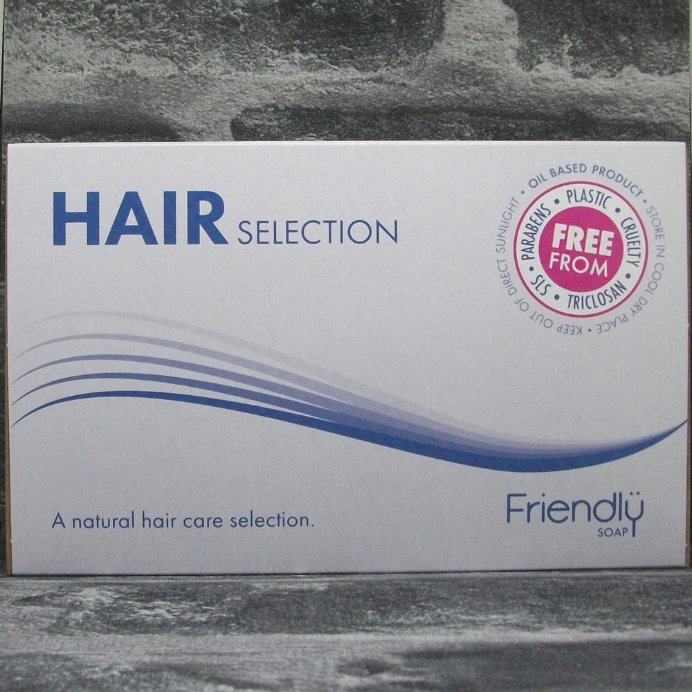 Hair Selection Gift Box With 2 Shampoo Bars & 2 Conditioner Bars