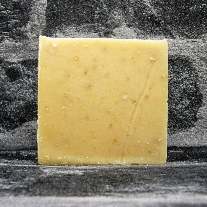 Honey & Oats Goats Milk Soap Bar Naked By The Spinney Goat Company