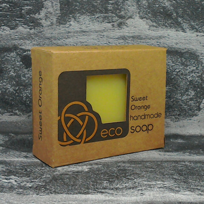 Eco Soaps Sweet Orange Soap Bar | Adam & Eco